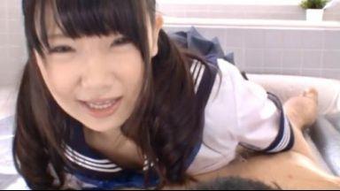 【愛須心亜】気持ちいいですか♡150cm未満なのにEカップのアンバランス系美少女JKとマットプレイでヌルヌル性交のthumbnail