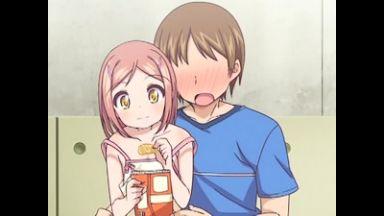 【エロアニメ JSロリ】小学生に300円のお菓子買って中出しセックスのthumbnail