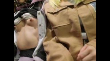 かわいい童顔ロリアニコスプレイヤーや爆乳アニコスプレイヤーたちオタク女子小柄ロリパイパン貧乳も高身長身も全員エロすぎのthumbnail