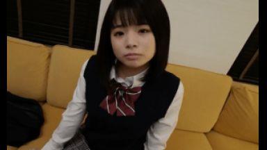 【個人撮影】アイドル志望の現役JKりーなちゃんがおこづかい欲しさに上京。ゴム出しのはずが穴開け細工で種付けドピュ♪のthumbnail